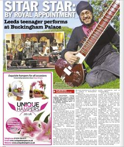 Sitar star: By royal appointment