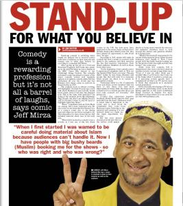 Stand-up for what you believe in