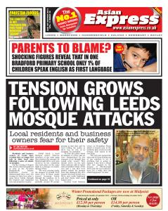 Tension grows following Leeds mosque attacks