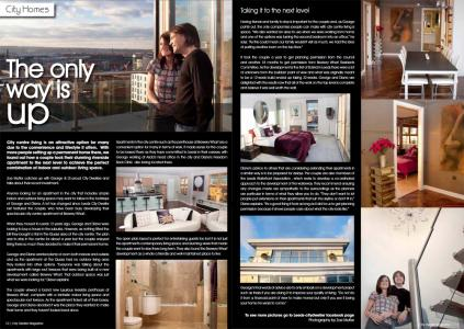 The only way is up - lifestyle article for Leeds City Dweller